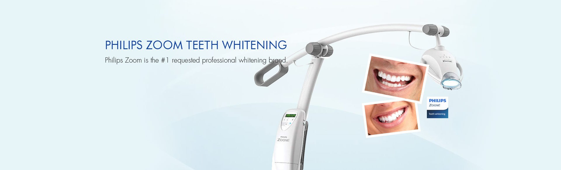 Dr. Carlos Garcia near Glendale CA, Image Of Philips Zoom teeth Whitening